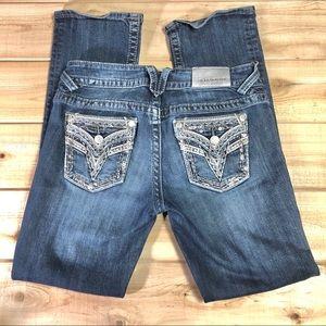 Vigoss the Dallas slim boot cut jeans